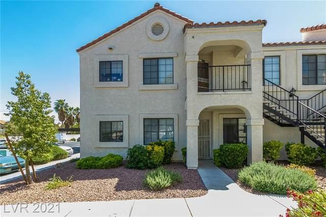 4836 Nara Vista Way #103, Las Vegas, NV 89103 (MLS #2293777) :: Custom Fit Real Estate Group