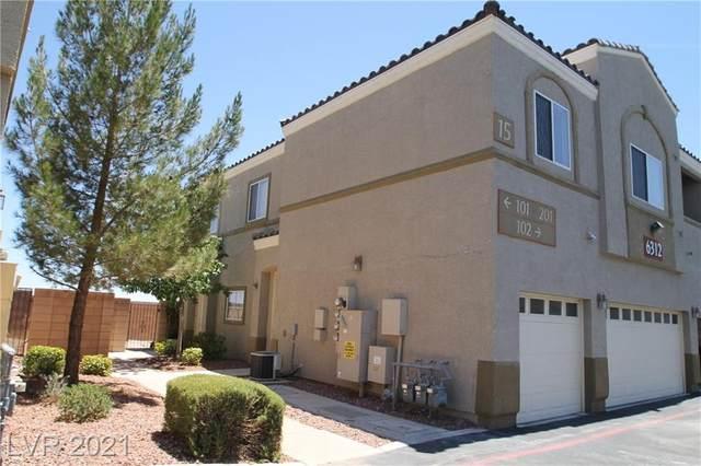 6312 Snap Ridge Street #201, North Las Vegas, NV 89081 (MLS #2294063) :: Lindstrom Radcliffe Group