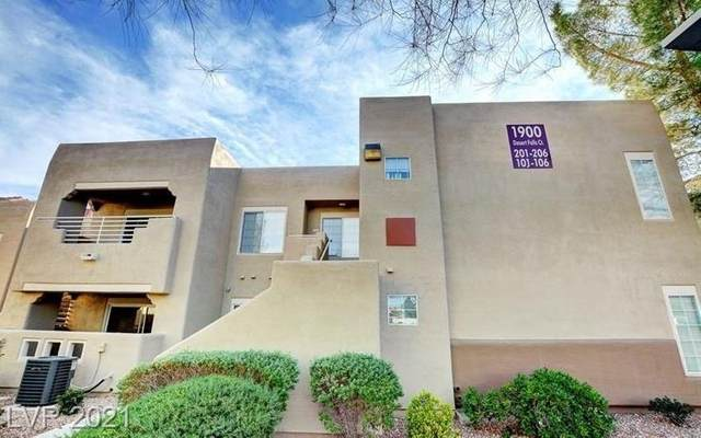1900 Desert Falls Court #103, Las Vegas, NV 89128 (MLS #2294075) :: Lindstrom Radcliffe Group