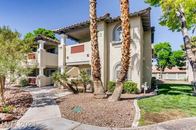 3512 Winterhaven Street #104, Las Vegas, NV 89108 (MLS #2294501) :: Lindstrom Radcliffe Group