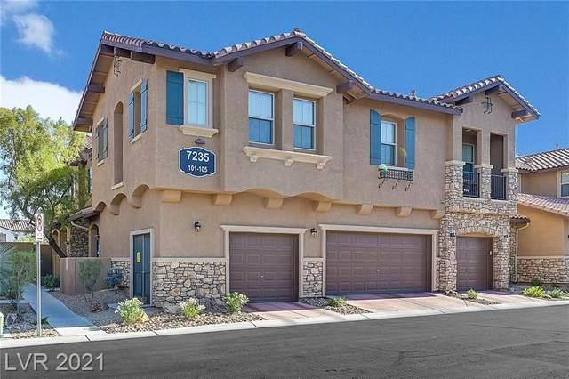 7235 Moonraker Avenue #101, Las Vegas, NV 89178 (MLS #2294571) :: Lindstrom Radcliffe Group