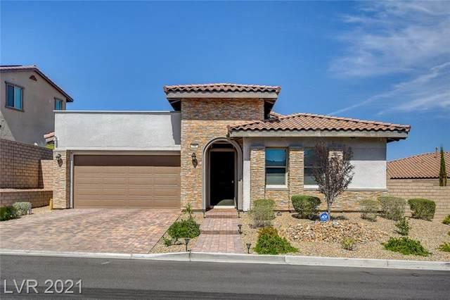 336 Valleggia Drive, Las Vegas, NV 89138 (MLS #2294790) :: Lindstrom Radcliffe Group