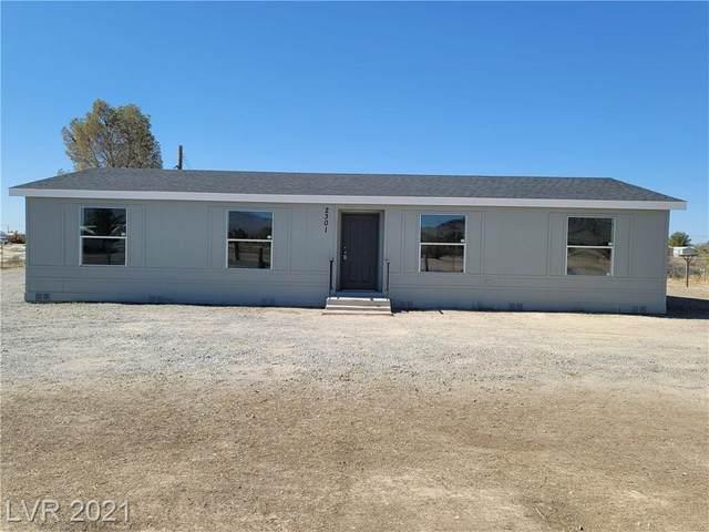 2301 Mcmurray Drive, Pahrump, NV 89060 (MLS #2294818) :: Signature Real Estate Group