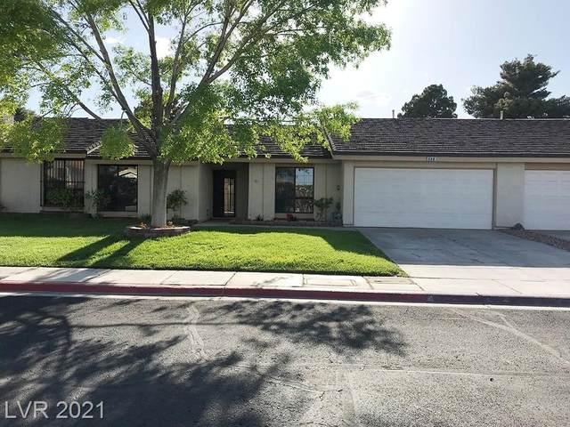 608 Woodmount Drive, Las Vegas, NV 89107 (MLS #2294999) :: Lindstrom Radcliffe Group