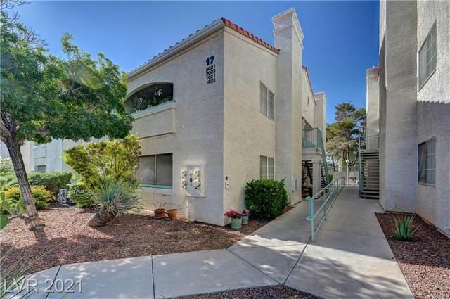 2725 S Nellis Boulevard #1021, Las Vegas, NV 89121 (MLS #2295009) :: Jeffrey Sabel