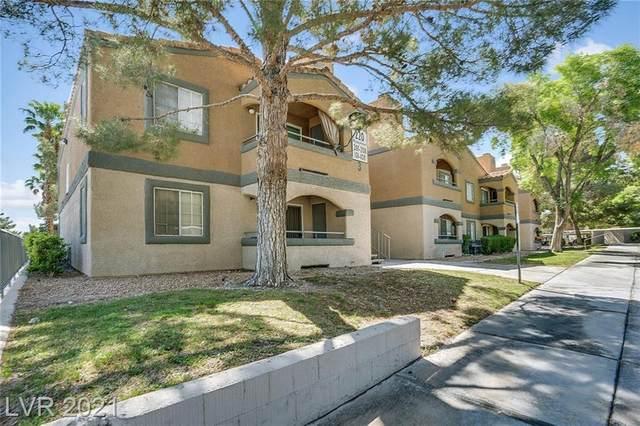 220 Mission Newport Lane #206, Las Vegas, NV 89107 (MLS #2295040) :: Galindo Group Real Estate