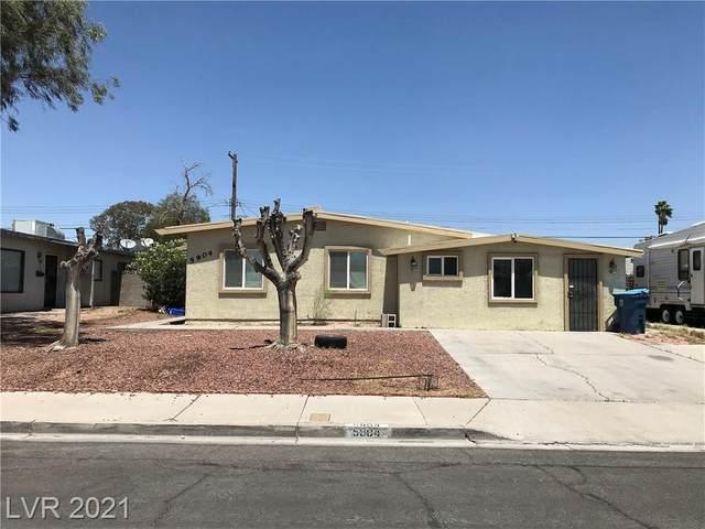 5904 Gipsy Avenue, Las Vegas, NV 89107 (MLS #2295064) :: Signature Real Estate Group