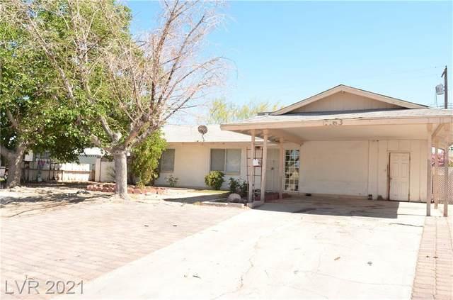 1163 E Hacienda Avenue, Las Vegas, NV 89119 (MLS #2295149) :: Lindstrom Radcliffe Group