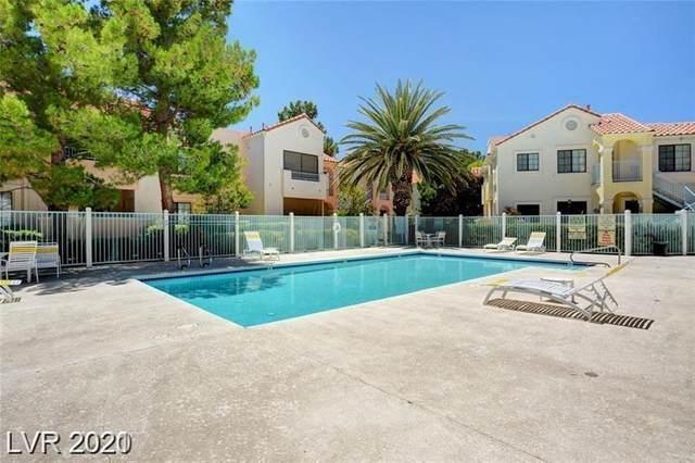 4881 S Torrey Pines Drive #104, Las Vegas, NV 89103 (MLS #2295272) :: Jeffrey Sabel