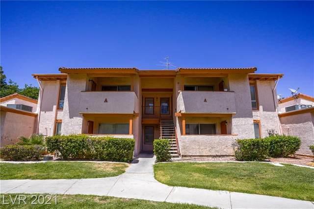 1515 E Reno Avenue A206, Las Vegas, NV 89119 (MLS #2295360) :: Jeffrey Sabel