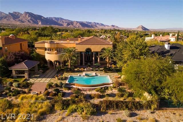 9013 Greensboro Lane, Las Vegas, NV 89134 (MLS #2295546) :: Jeffrey Sabel