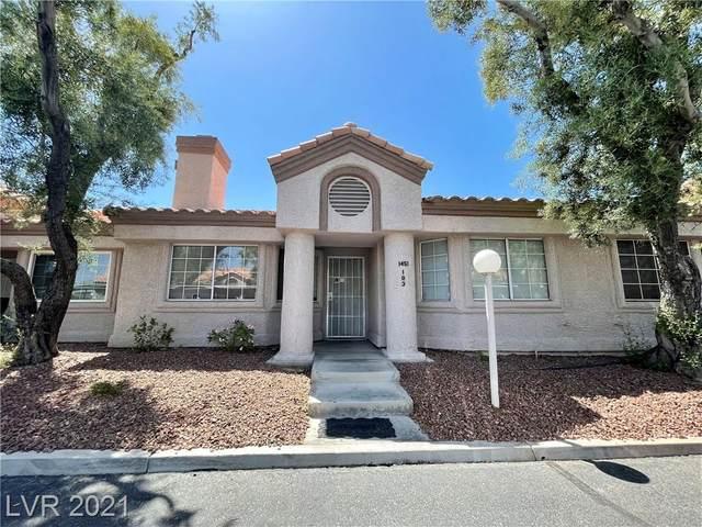 1451 Di Blasi Drive #103, Las Vegas, NV 89119 (MLS #2295550) :: Lindstrom Radcliffe Group
