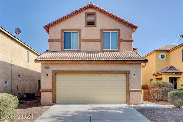 5201 El Castano Avenue, Las Vegas, NV 89108 (MLS #2295554) :: Signature Real Estate Group