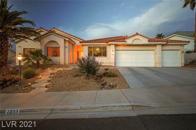 1033 Norellat Road, Henderson, NV 89011 (MLS #2295664) :: Custom Fit Real Estate Group