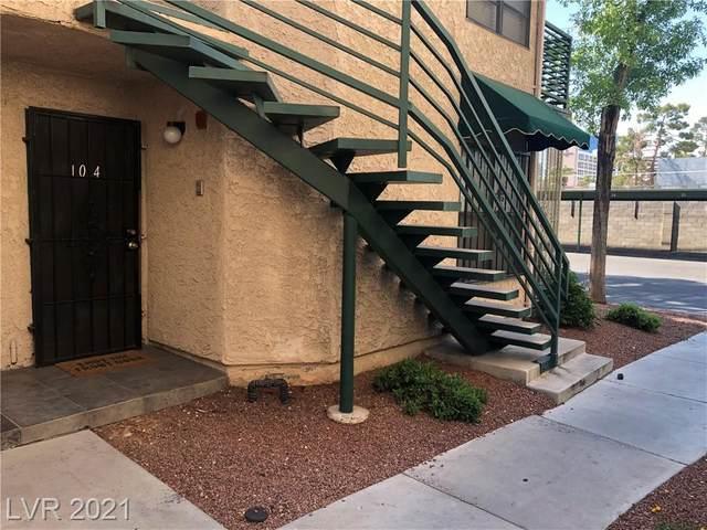 500 Elm Drive #104, Las Vegas, NV 89169 (MLS #2295719) :: Hebert Group | Realty One Group