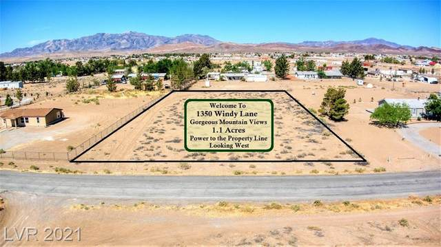 1350 Windy Lane, Pahrump, NV 89048 (MLS #2295871) :: Lindstrom Radcliffe Group