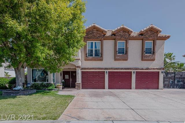 6112 Cove Cahill Court, Las Vegas, NV 89130 (MLS #2295892) :: Lindstrom Radcliffe Group