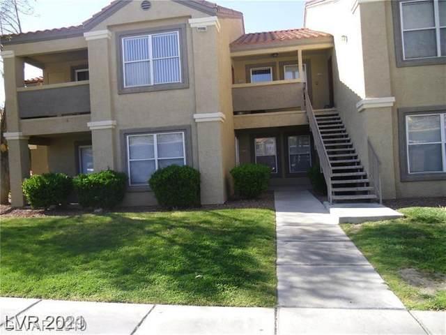 2300 E Silverado Ranch Boulevard #2155, Las Vegas, NV 89183 (MLS #2295906) :: DT Real Estate