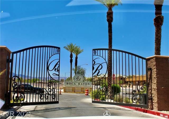 2455 Serene Avenue #222, Las Vegas, NV 89123 (MLS #2295956) :: Lindstrom Radcliffe Group