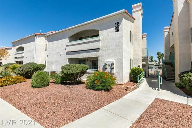 2725 S Nellis Boulevard #1025, Las Vegas, NV 89121 (MLS #2296072) :: Lindstrom Radcliffe Group