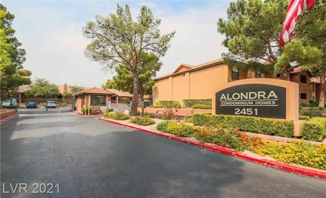 2451 N Rainbow Boulevard #1031, Las Vegas, NV 89108 (MLS #2296181) :: DT Real Estate