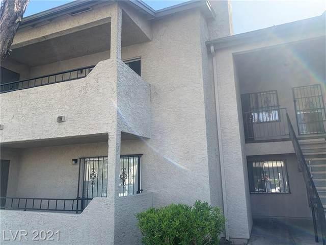 3771 Shirebrook Drive #161, Las Vegas, NV 89115 (MLS #2296250) :: Lindstrom Radcliffe Group