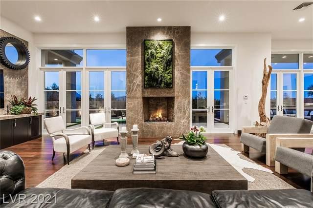 70 Hawk Ridge Drive, Las Vegas, NV 89135 (MLS #2296292) :: Galindo Group Real Estate