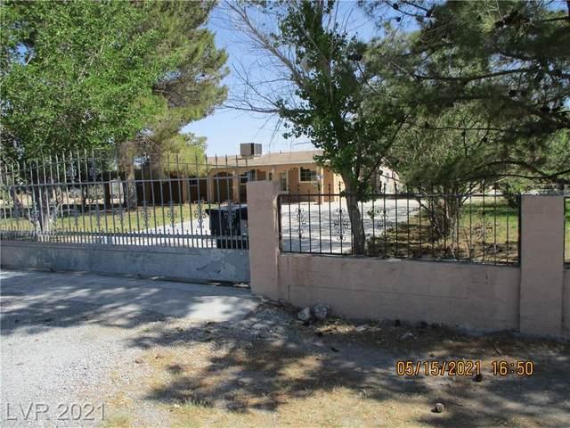 1081 Heritage Drive, Pahrump, NV 89048 (MLS #2296352) :: Jack Greenberg Group