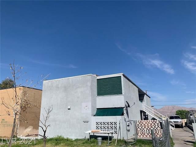 736 N 11th Street, Las Vegas, NV 89101 (MLS #2296557) :: Hebert Group | eXp Realty