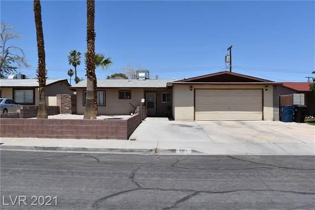 5912 Jerry Drive, Las Vegas, NV 89108 (MLS #2297656) :: Galindo Group Real Estate