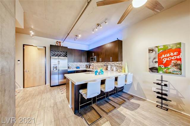 353 E Bonneville Avenue #521, Las Vegas, NV 89101 (MLS #2297918) :: Lindstrom Radcliffe Group