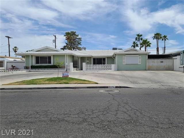 2273 Golden Arrow Drive, Las Vegas, NV 89169 (MLS #2298523) :: Galindo Group Real Estate