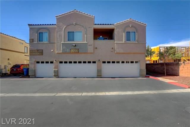 4036 Smokey Fog Avenue #101, North Las Vegas, NV 89081 (MLS #2298793) :: Jack Greenberg Group