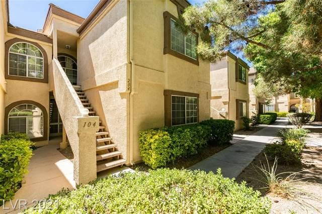 3672 Angela Robin Street #104, Las Vegas, NV 89129 (MLS #2298823) :: Jack Greenberg Group