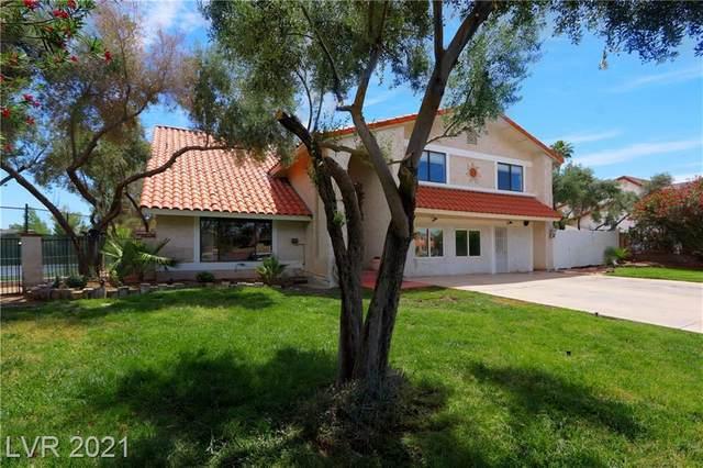 5550 Mcleod Drive, Las Vegas, NV 89120 (MLS #2299080) :: Jeffrey Sabel