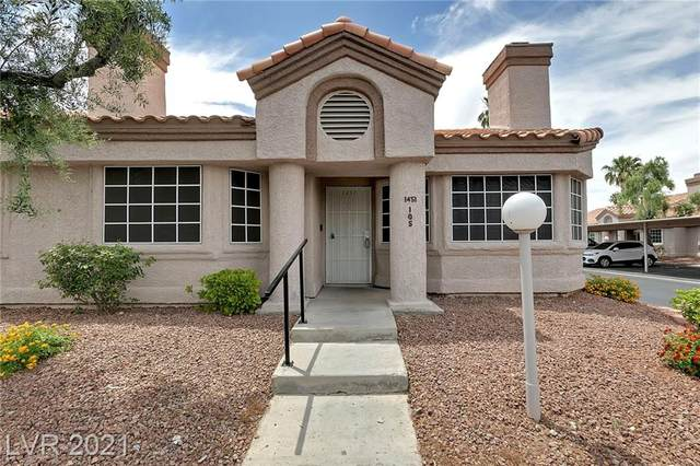1451 Di Blasi Drive #105, Las Vegas, NV 89119 (MLS #2299842) :: Team Michele Dugan