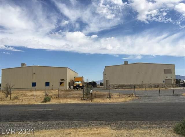 2331-A W Blosser Ranch Road, Pahrump, NV 89060 (MLS #2299866) :: Keller Williams Realty