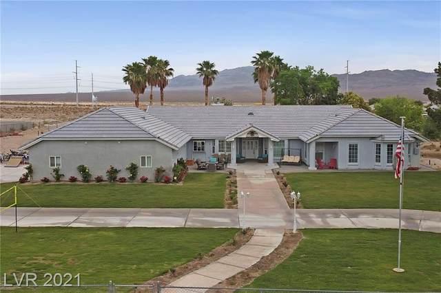 8500 Rocky Avenue, Las Vegas, NV 89143 (MLS #2299941) :: Lindstrom Radcliffe Group