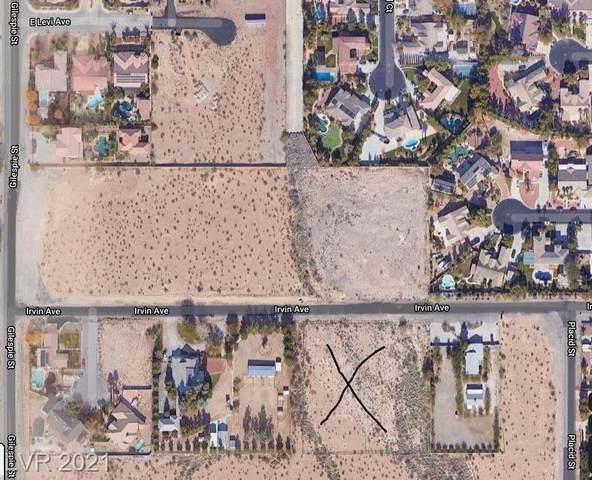 Irvin Avenue, Las Vegas, NV 89124 (MLS #2300052) :: Keller Williams Realty