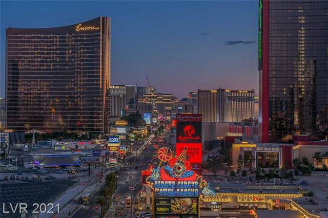 2700 Las Vegas Boulevard #1408, Las Vegas, NV 89109 (MLS #2300390) :: Jack Greenberg Group
