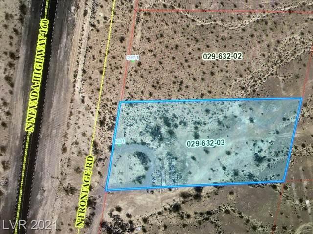 2631 N Nevada Hwy 160, Pahrump, NV 89060 (MLS #2300593) :: The TR Team