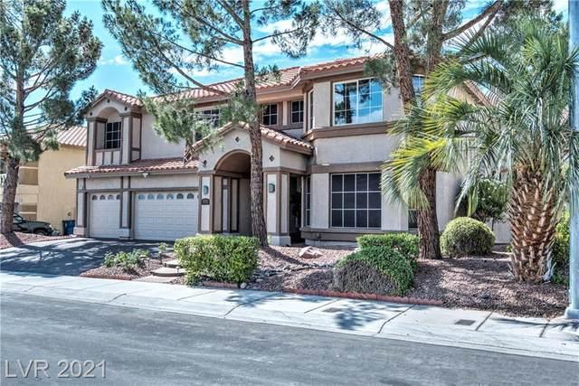 8713 Castle Hill Avenue, Las Vegas, NV 89129 (MLS #2300692) :: Galindo Group Real Estate