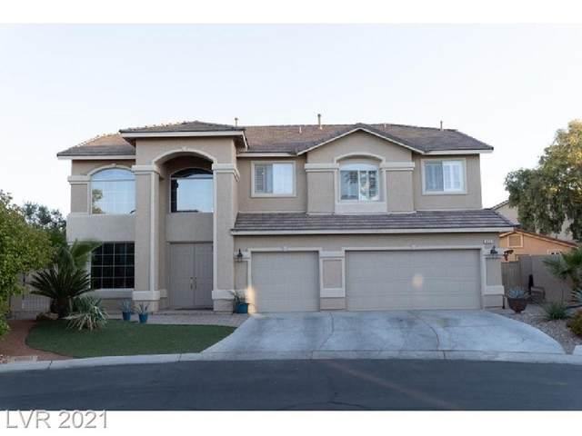 499 Dynacraft Street, Las Vegas, NV 89148 (MLS #2302166) :: Lindstrom Radcliffe Group