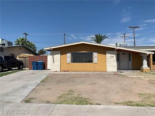2129 N Michael Way, Las Vegas, NV 89108 (MLS #2302319) :: Lindstrom Radcliffe Group