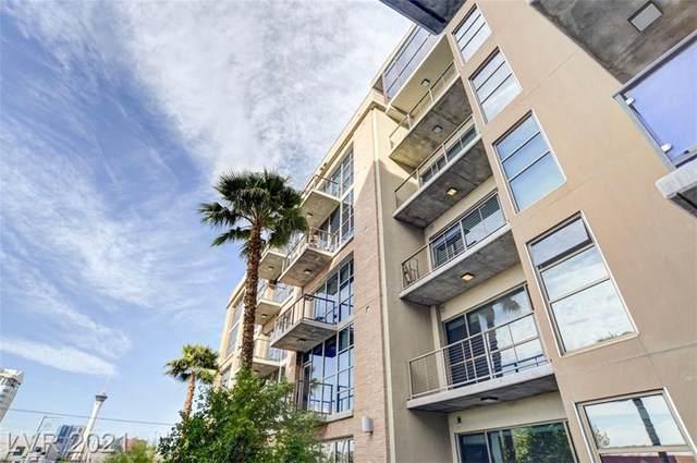 353 E Bonneville Avenue #255, Las Vegas, NV 89101 (MLS #2302364) :: Lindstrom Radcliffe Group