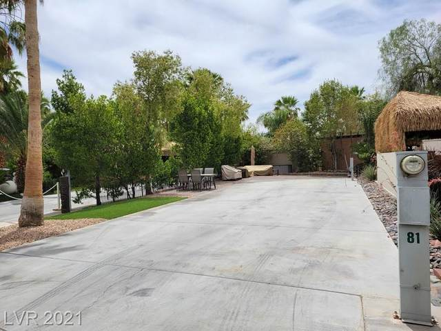 8175 Arville Street #81, Las Vegas, NV 89139 (MLS #2302973) :: Lindstrom Radcliffe Group