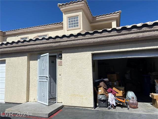 3605 Pierida Street #202, Las Vegas, NV 89108 (MLS #2303238) :: Signature Real Estate Group