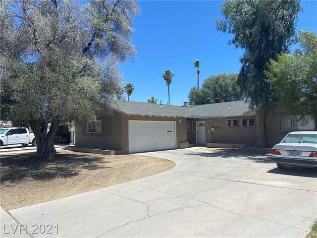 1305 Hillside Place, Las Vegas, NV 89104 (MLS #2303466) :: Lindstrom Radcliffe Group