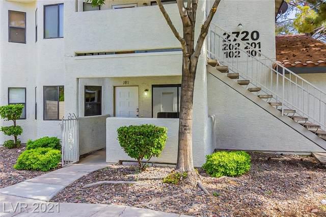 2720 Beaver Creek Court #101, Las Vegas, NV 89117 (MLS #2303480) :: DT Real Estate