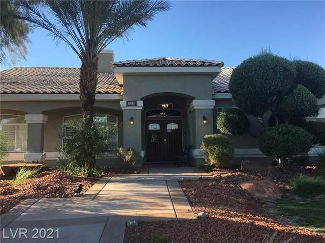 5985 N Campbell Road, Las Vegas, NV 89149 (MLS #2303536) :: Hebert Group | Realty One Group